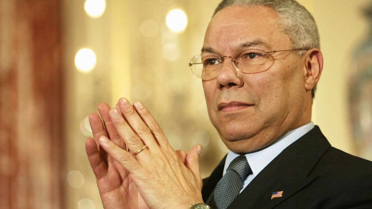 Colin Powell unleashes on Republicans for their unwavering loyalty to President Trump: 'Get a grip'