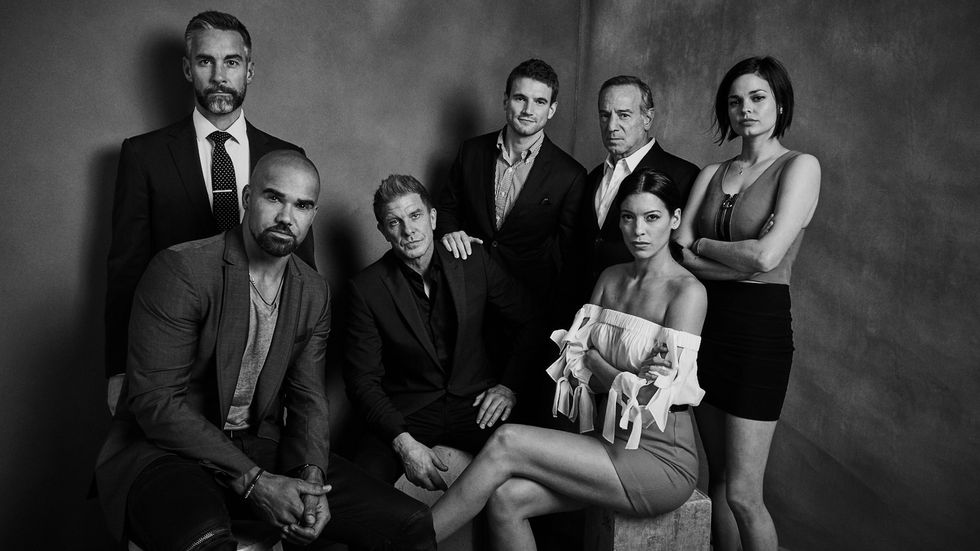 The Cast of SWAT