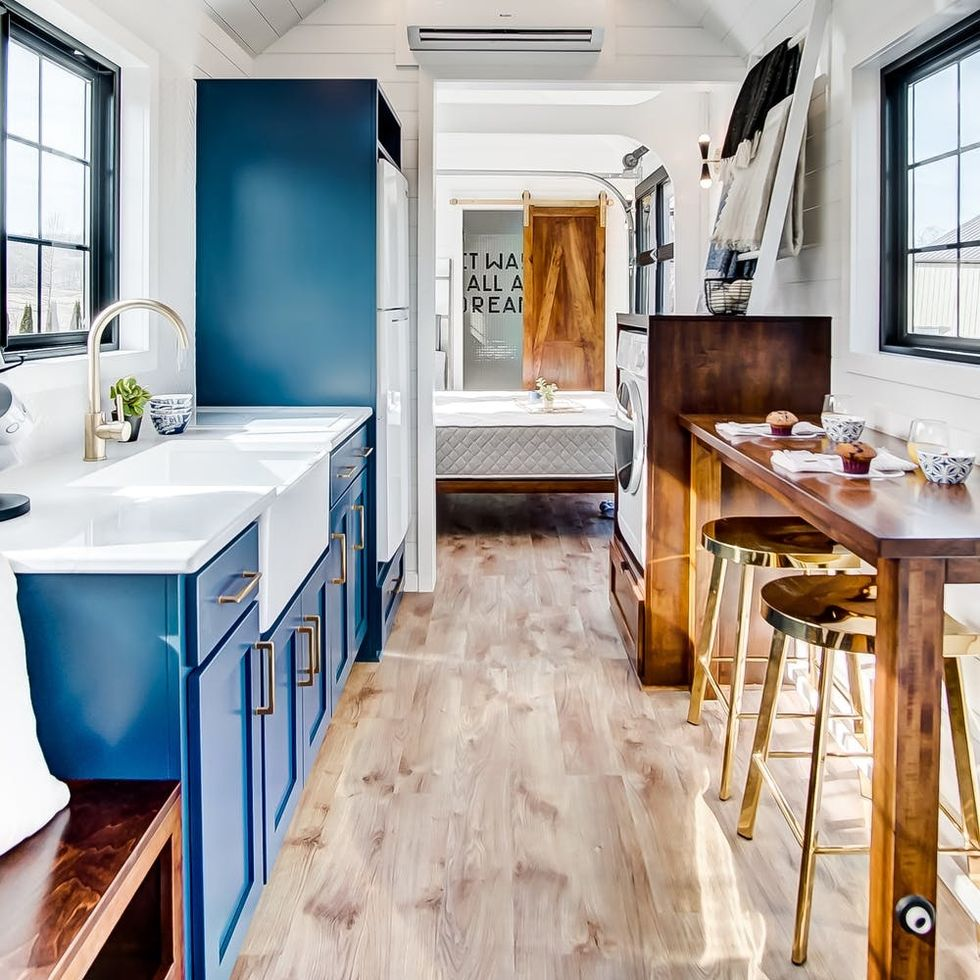 We're Stealing So Many Design Tips from This Adorable Tiny House