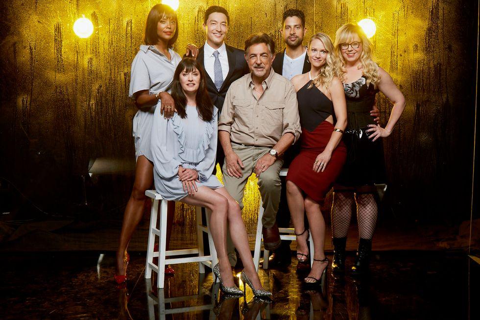 The cast of Criminal Minds