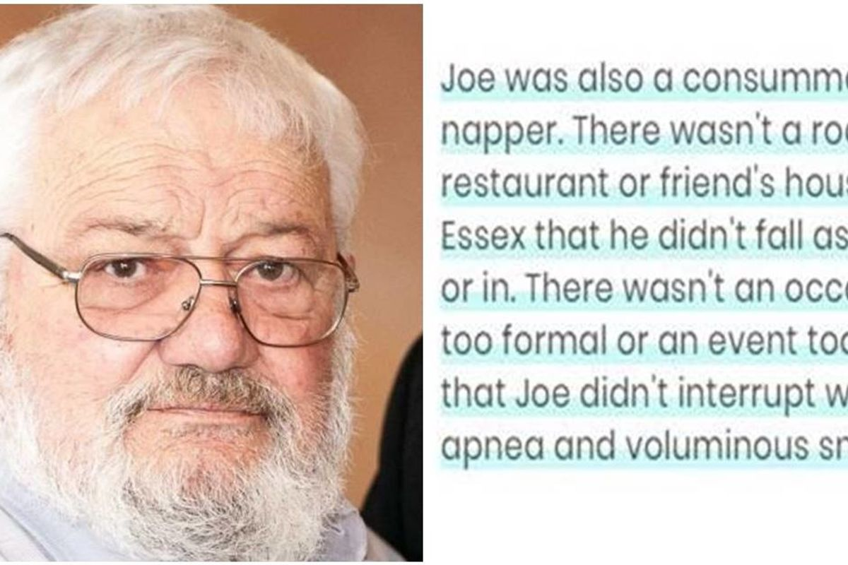 Obituary for a 'very sick man' is going viral because it's so funny you wish you knew him