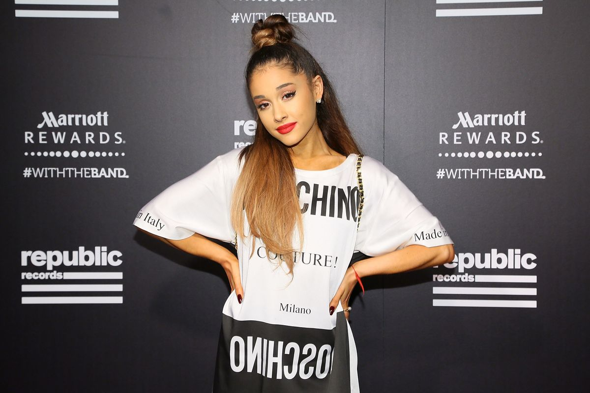 Ariana Grande Wears Crocs With Socks