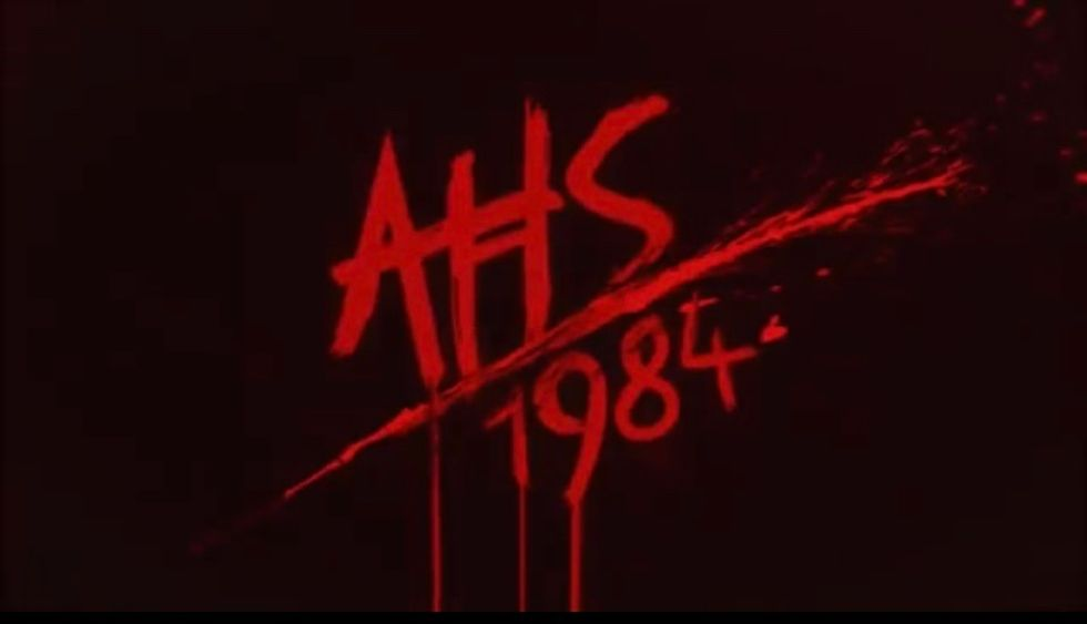 """""""American Horror Story: 1984"""" promotional image."""