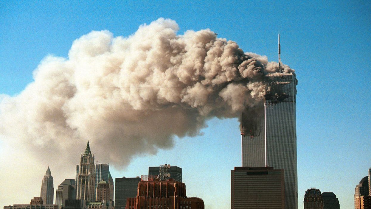 NY Times claims 'airplanes took aim' at World Trade Center on 9/11, not terrorists. The backlash is fierce.