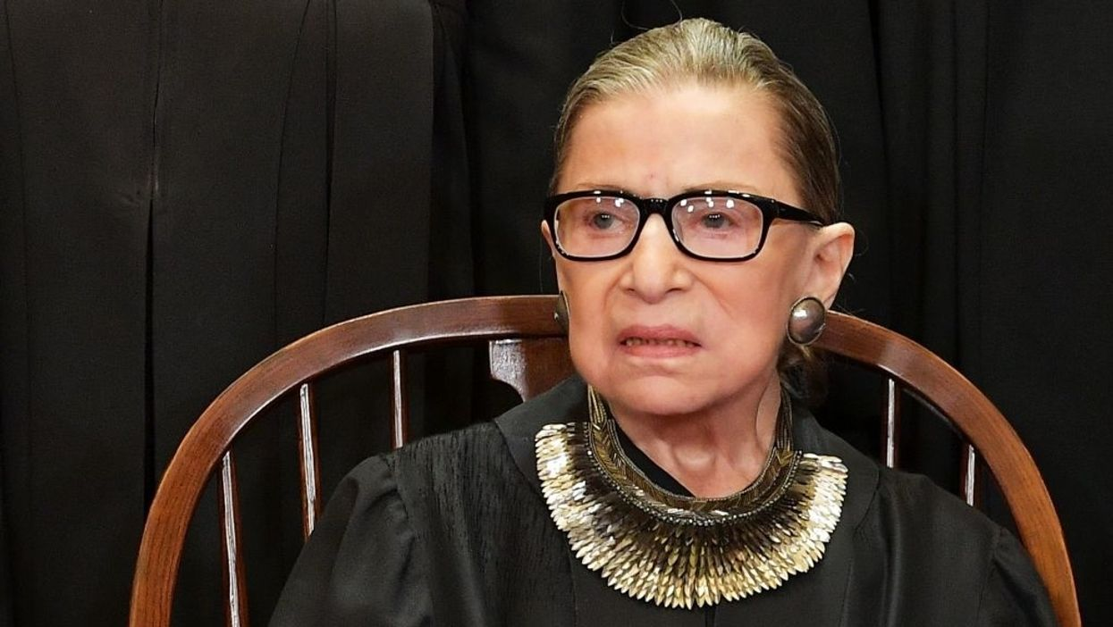 Justice Ruth Bader Ginsburg shuts down talk on eliminating Electoral College