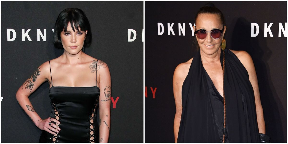 Donna Karan, Whose NYFW Party Featured Halsey, Doesn't Know Who Halsey Is