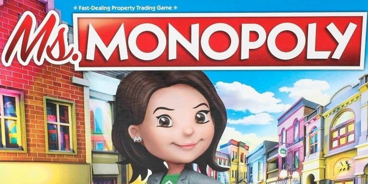 Girl Power Comes to Board Games: Meet Ms. Monopoly
