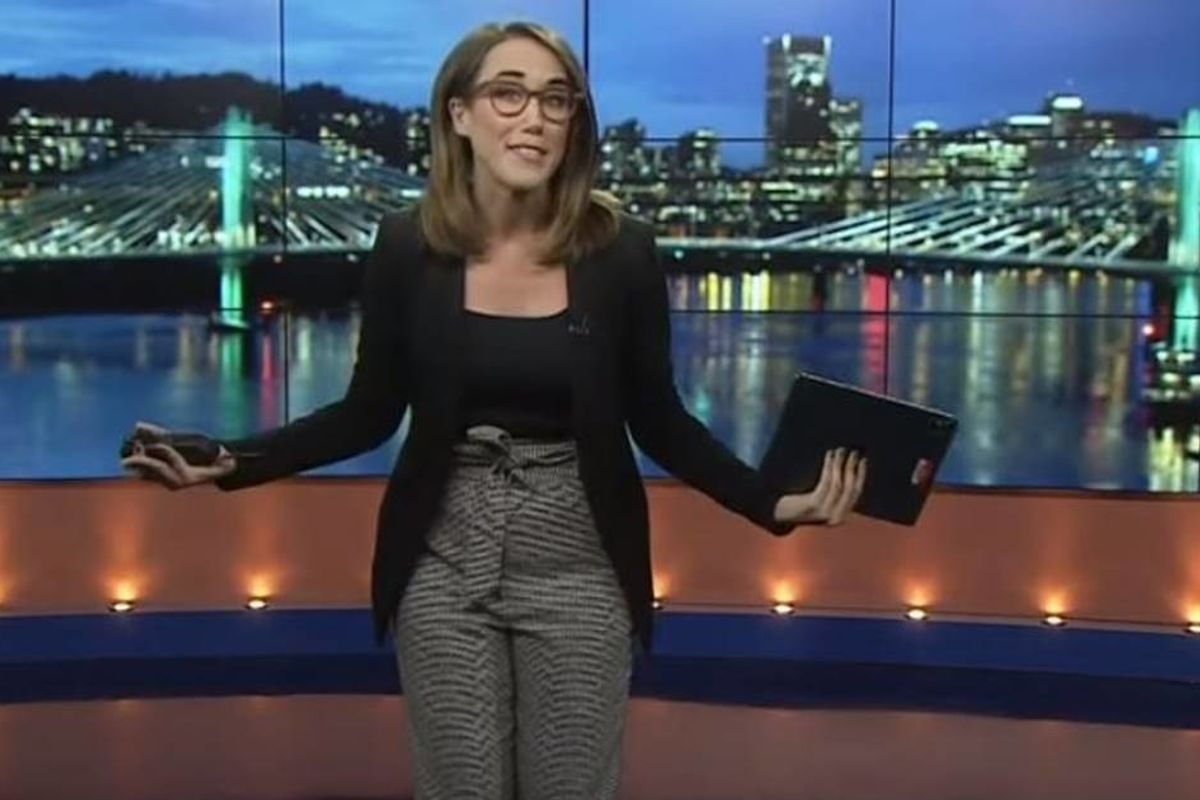 Fed up news anchor has the best response to a man who told her to dress 'like a normal woman'