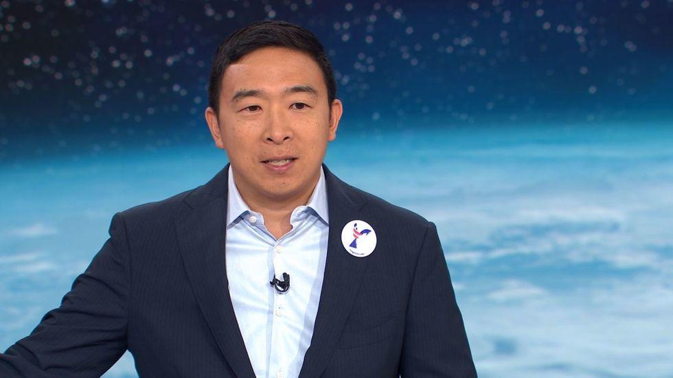 Andrew Yang at the CNN Debate