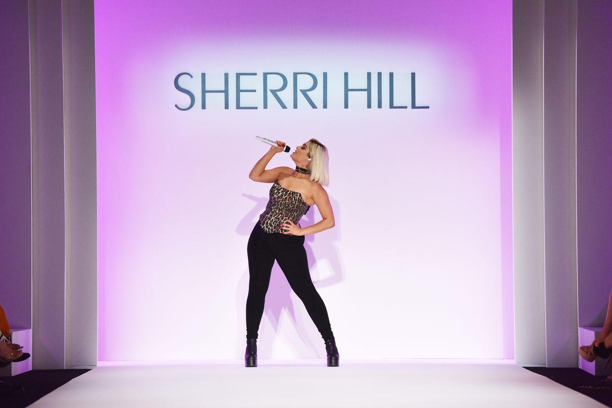 Bebe Rexha Spilled NYFW Tea at Sherri Hill