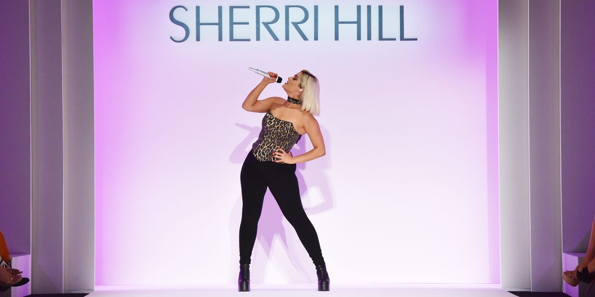 Bebe Rexha Spilled NYFW Tea at Sherri Hill