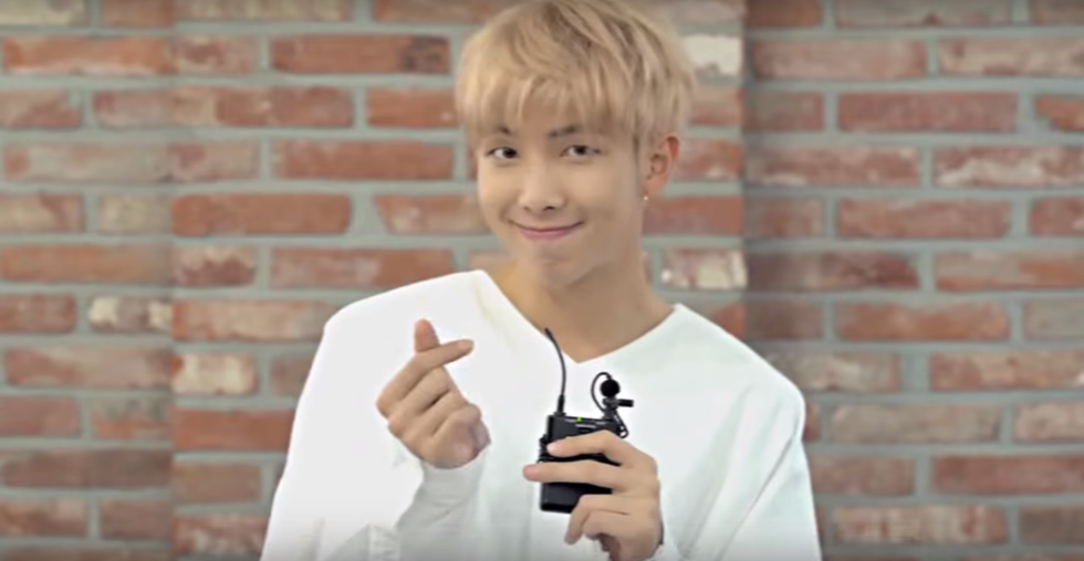 25 Reasons To Love Kim Namjoon From BTS