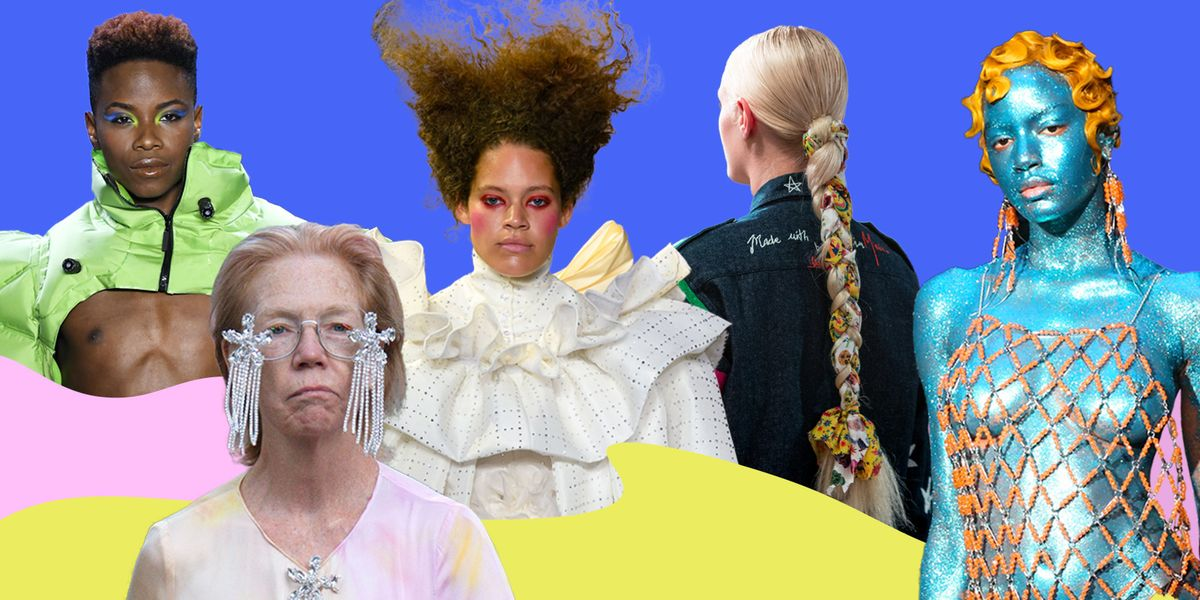 The Best Beauty Looks At Fashion Week Were Completely Over-The-Top