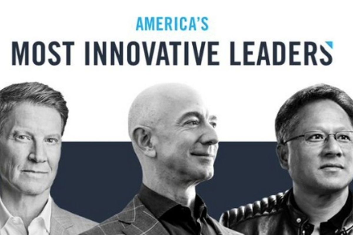 Forbes' 100 Most Innovative Leaders list includes 99 men. Here's how their methodology was flawed