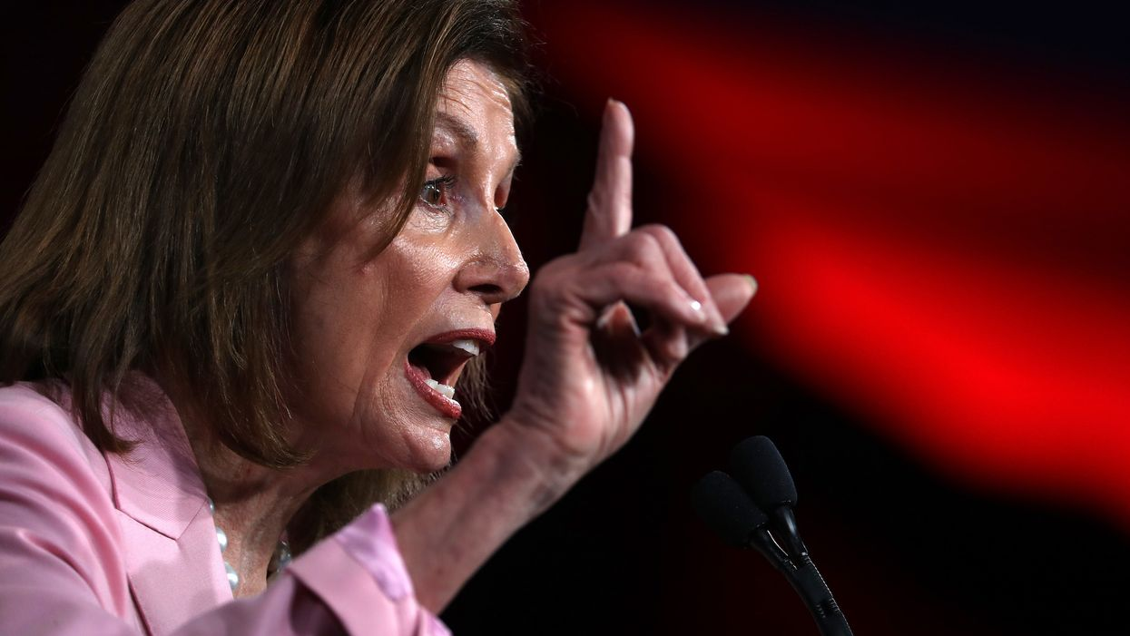 Agitated Nancy Pelosi storms off of media briefing over these impeachment questions