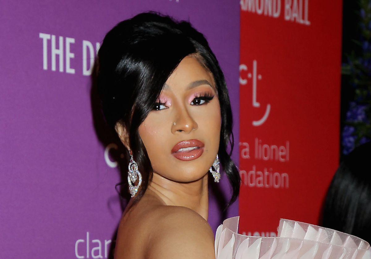 Cardi B Wore Fall's Biggest Makeup Trend To Rihanna's Diamond Ball