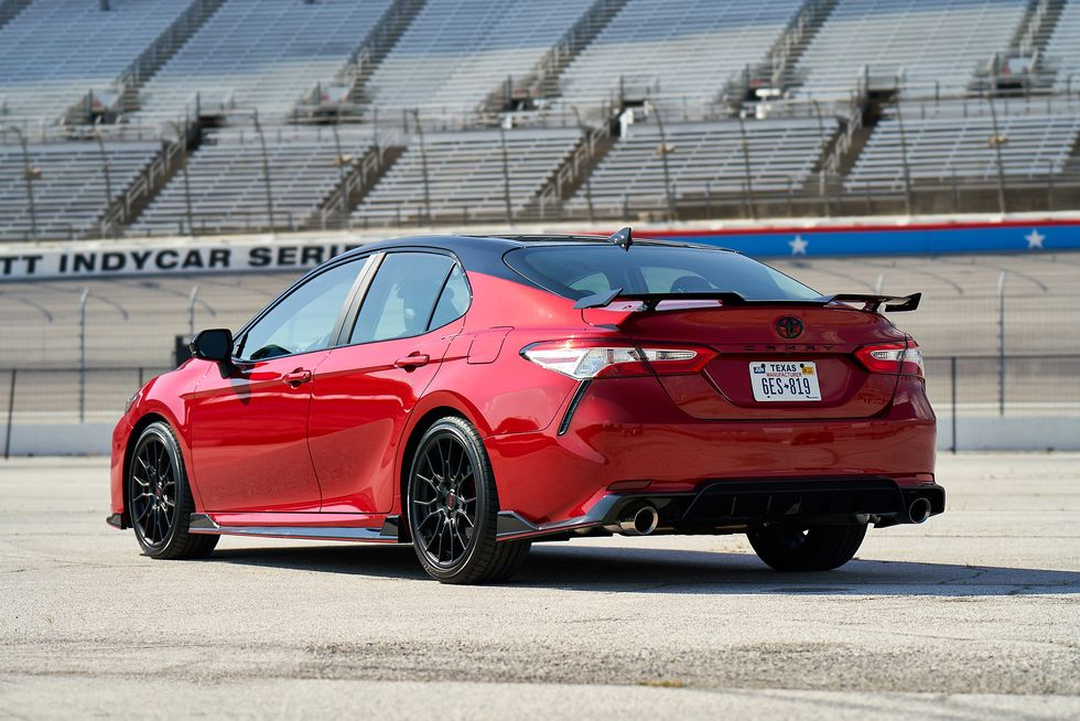 2020 Toyota Camry TRD back rear wing spoiler