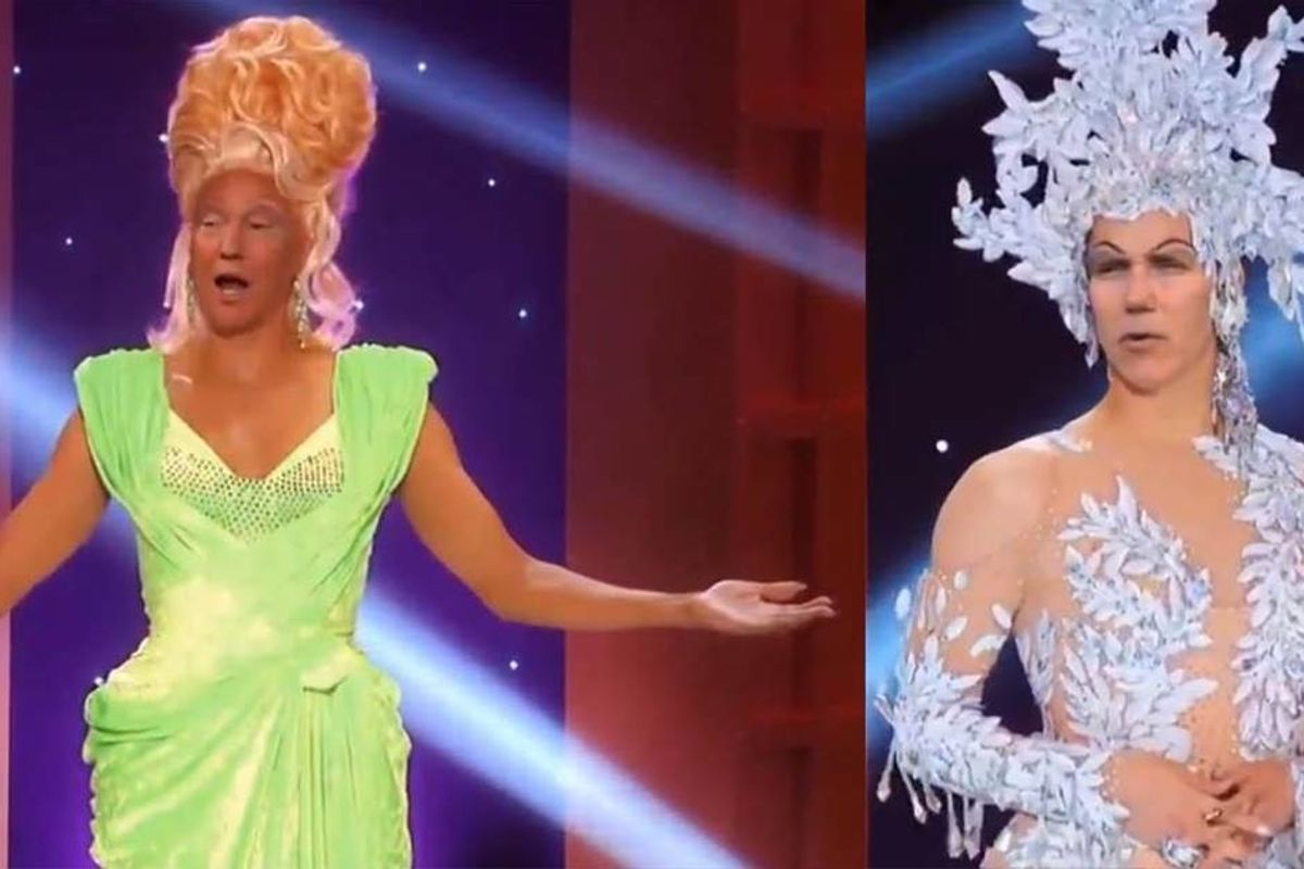 Jimmy Kimmel shows the dangers of deepfake videos by inserting Trump and Pence into 'RuPaul's Drag Race'