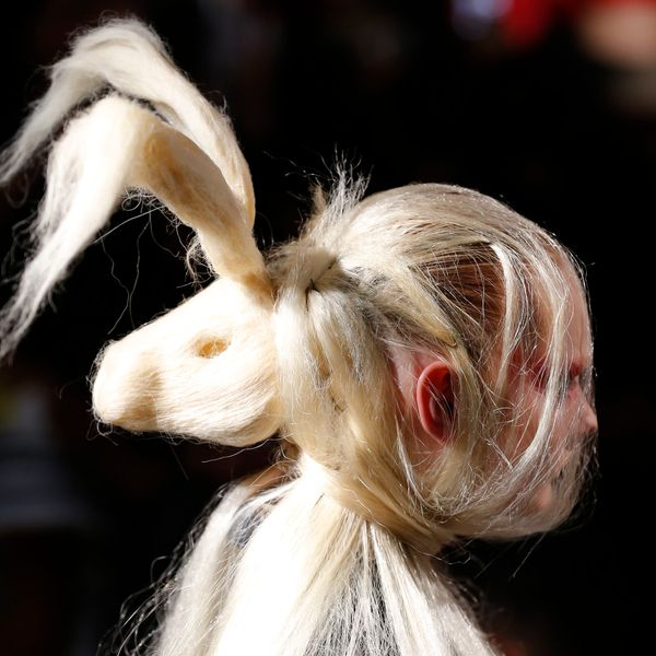 Animal Heads Are the Strangest Hair Trend From NYFW