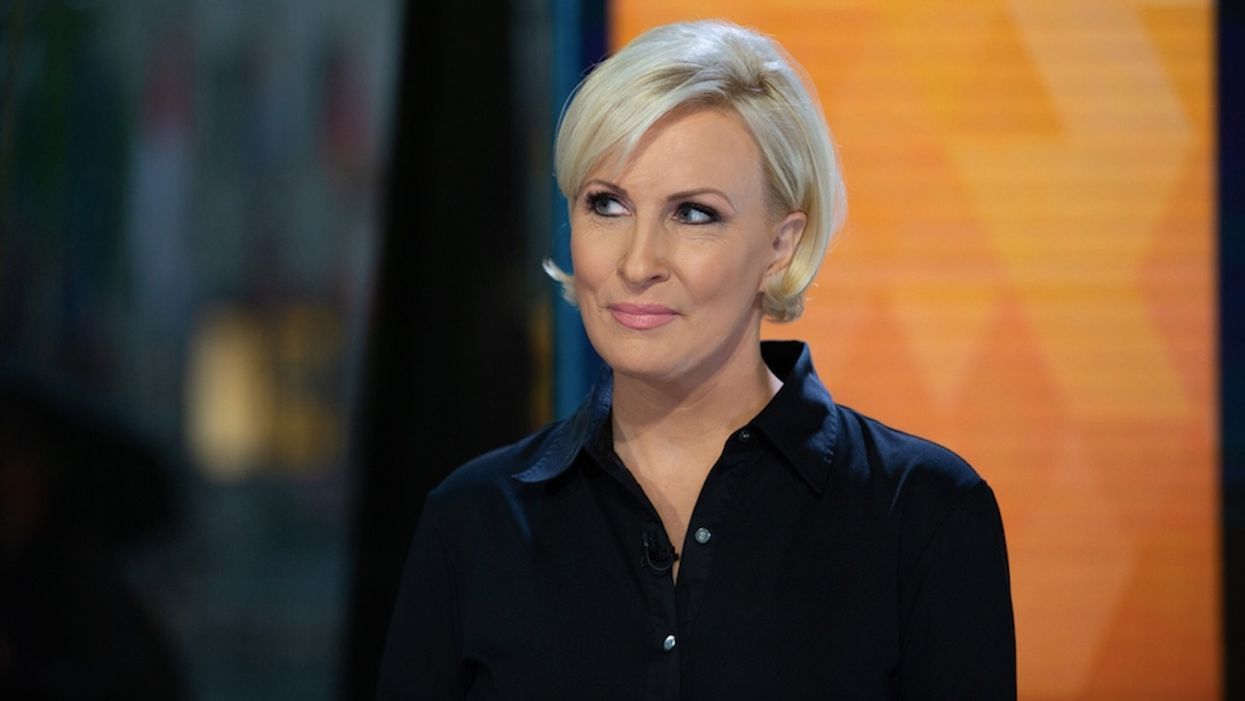 MSNBC's Mika Brzezinski appears to suggest President Trump isn't Barron Trump's father