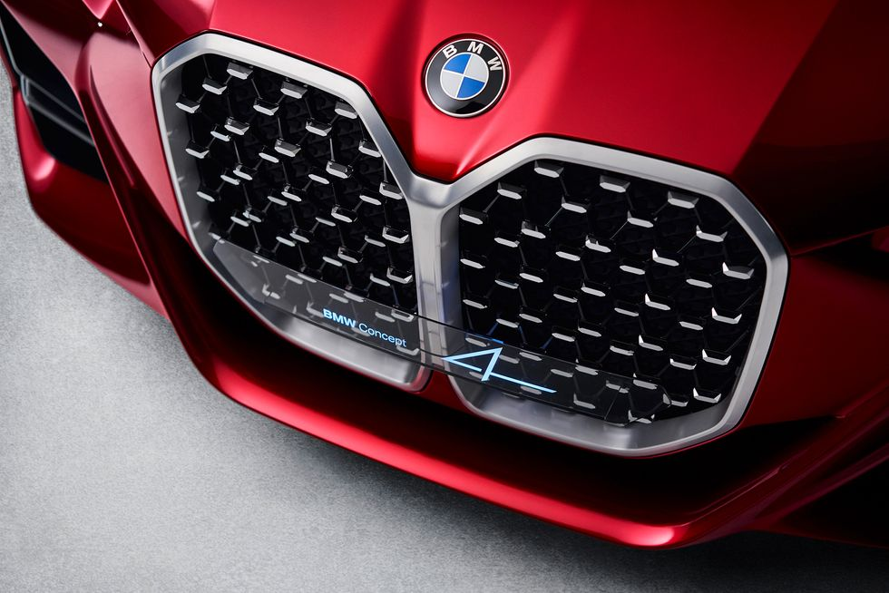 BMW Concept 4 face grille