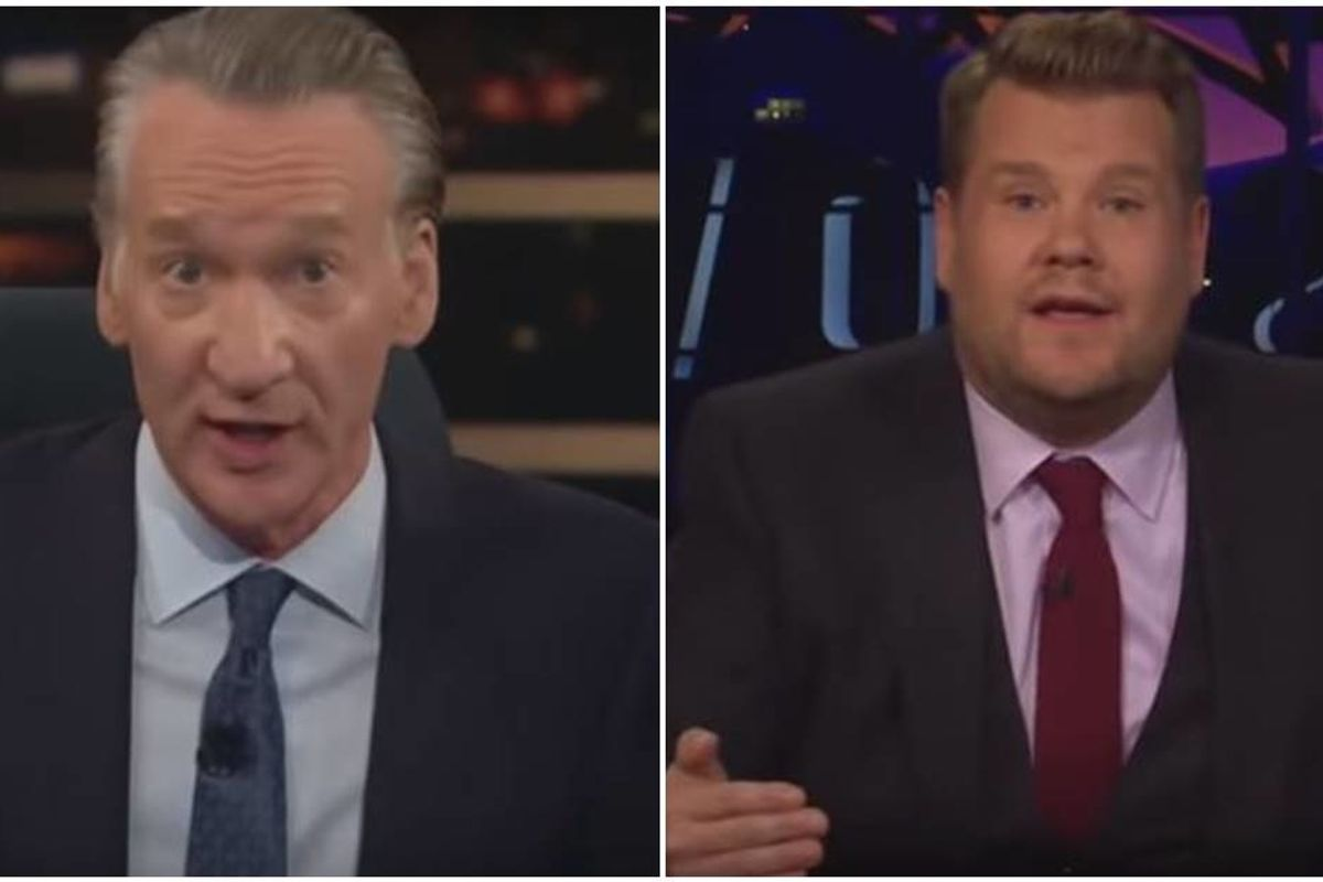BIll Maher started a debate about fat-shaming and James Corden finished it beautifully