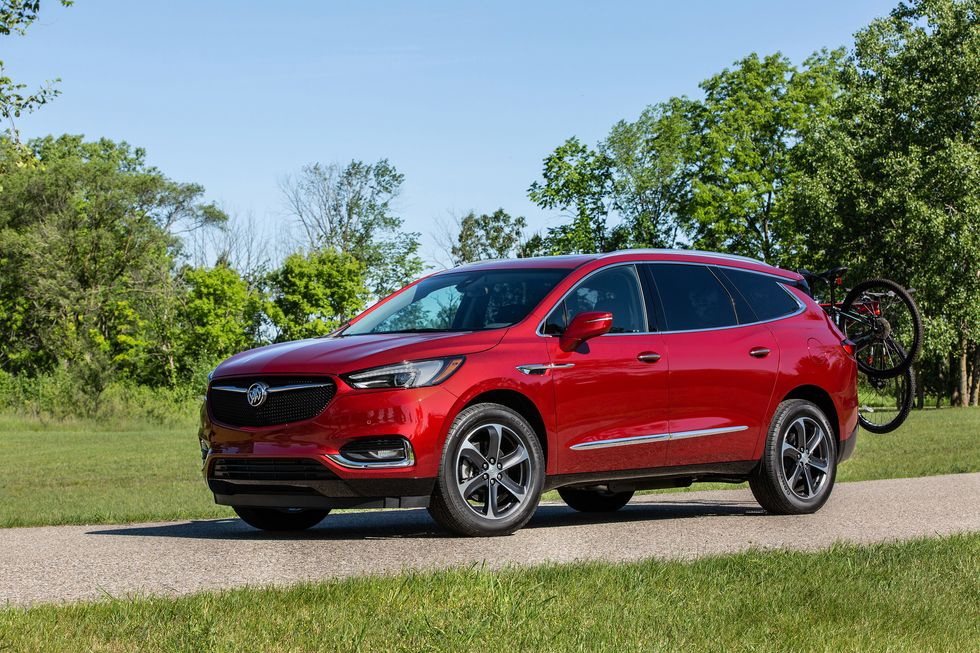 2020 Buick Enclave with Sport Touring package front face wheels mirror