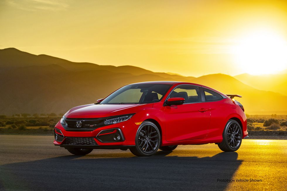 2020 Honda Civic Si Coupe front