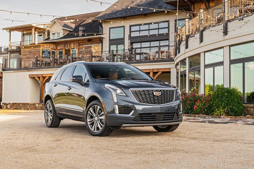 2020 Cadillac XT5 Premium Luxury front face
