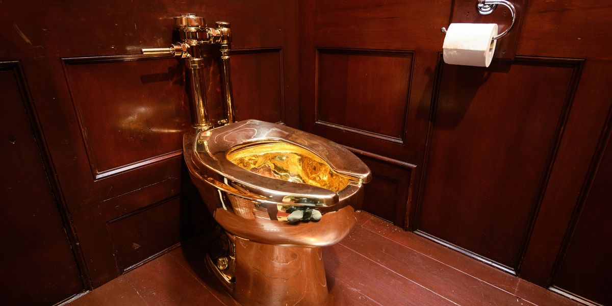Solid Gold Toilet Gets Stolen