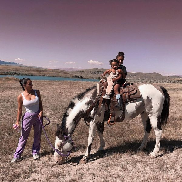The Kardashian-Wests Go West