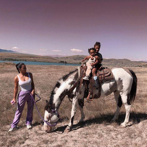 The Kardashian-Wests Go West