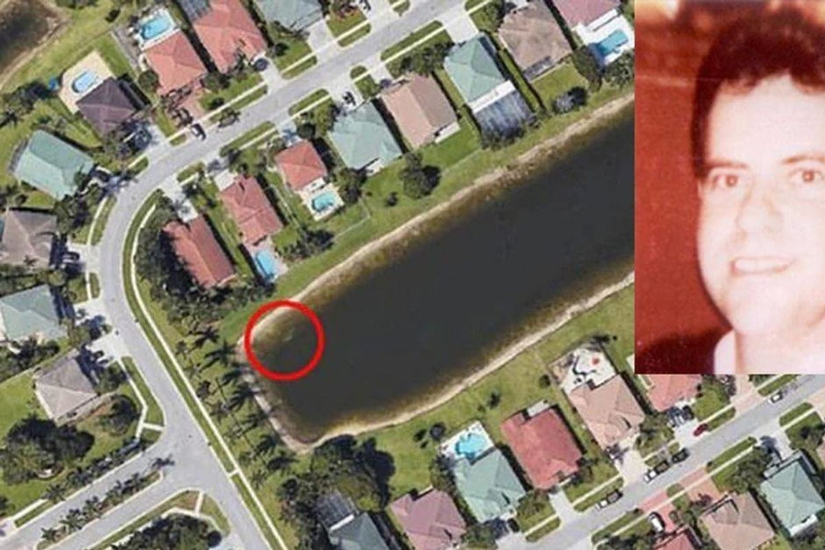 A 22-year-old missing person's case was solved thanks to eagle-eyed neighbors and Google Earth