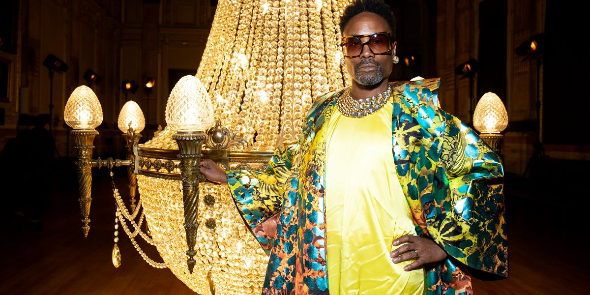 Billy Porter Slays London Fashion Week