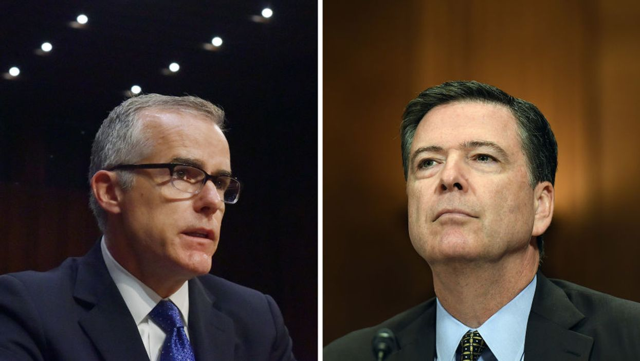 Andrew McCabe, James Comey will face criminal charges over FISA abuses, top House Republican predicts