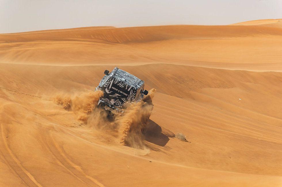 2020 Land Rover Defender Desert Testing UAE