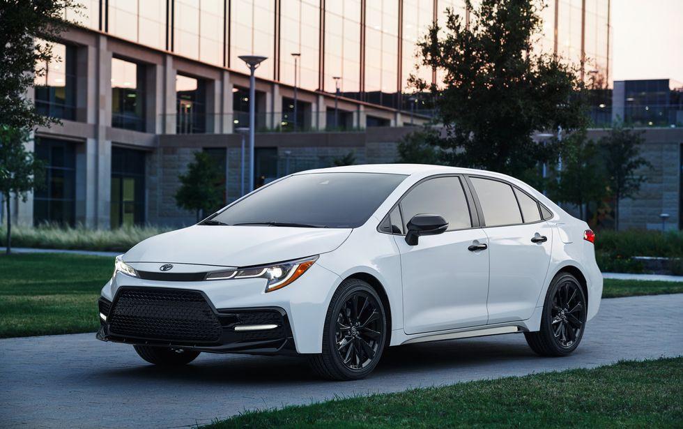 2020 Toyota Corolla Nightshade Edition\u200b Front Side Headlights Wheels Mirrors