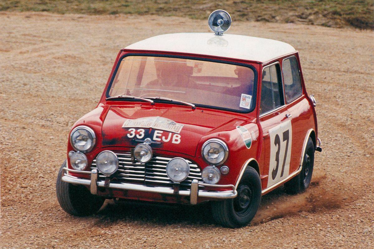 1964 MINI rally Paddy Hopkirk