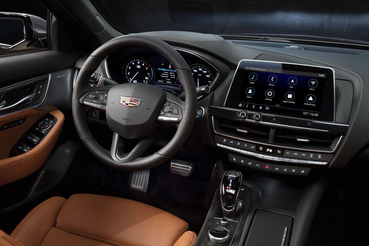 2020 Cadillac CT5 interior