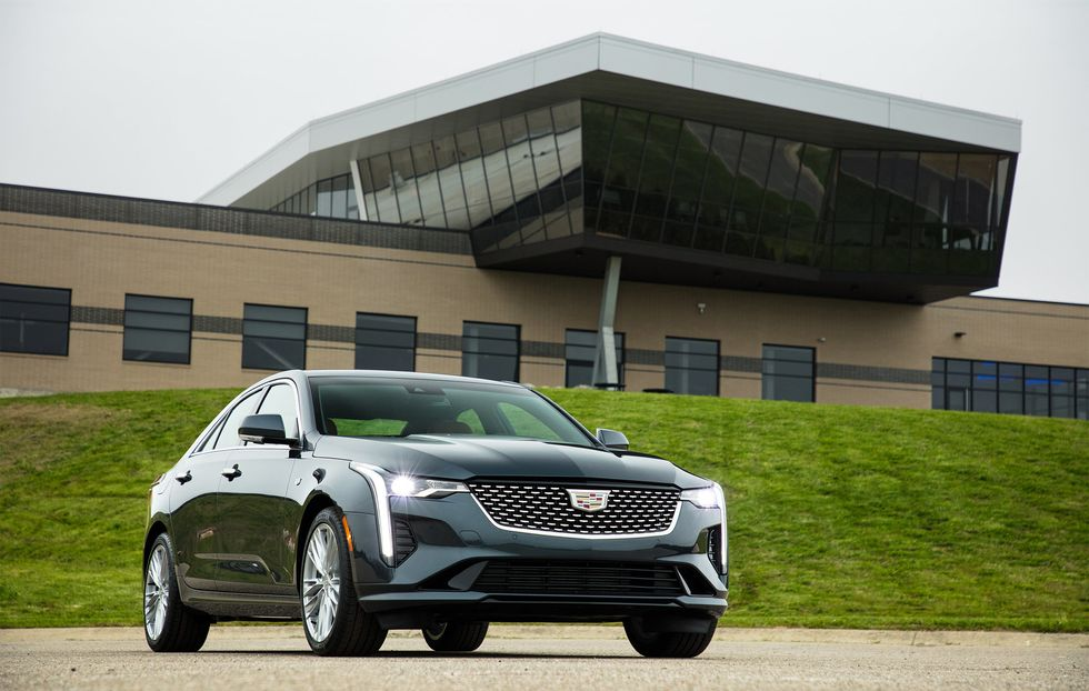 2020 Cadillac CT4 Front Grille