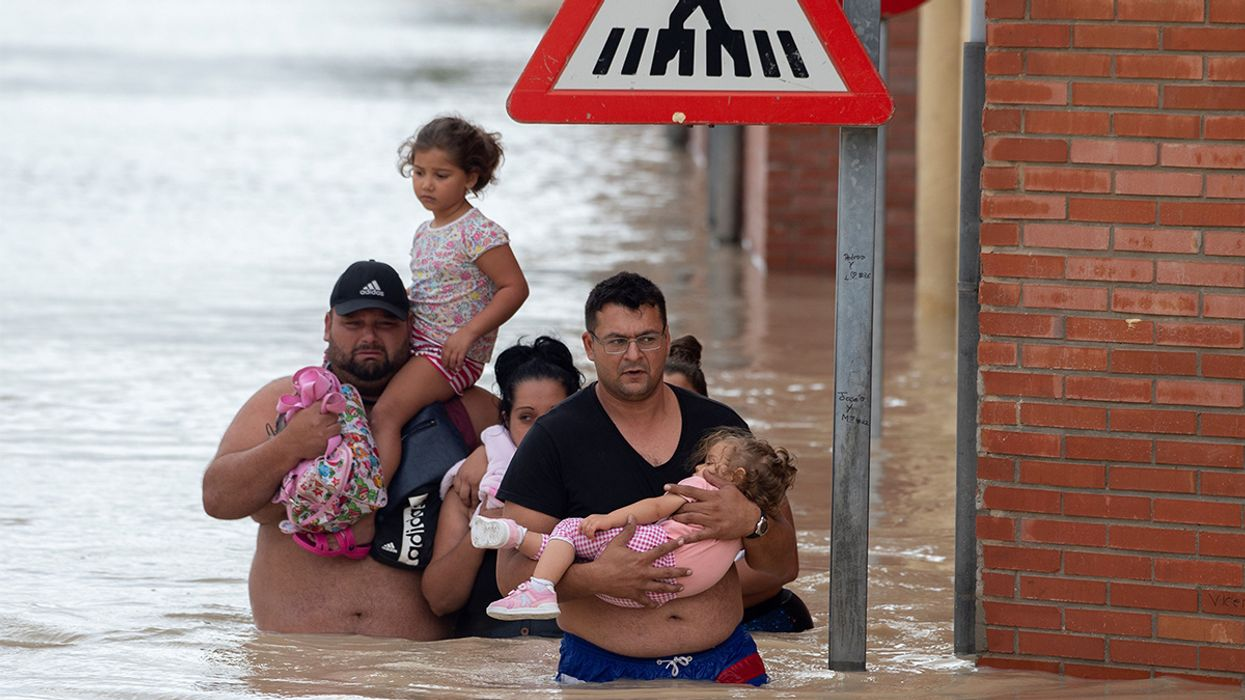 6 Dead in Worst Storm to Drench Eastern Spain in 140 Years