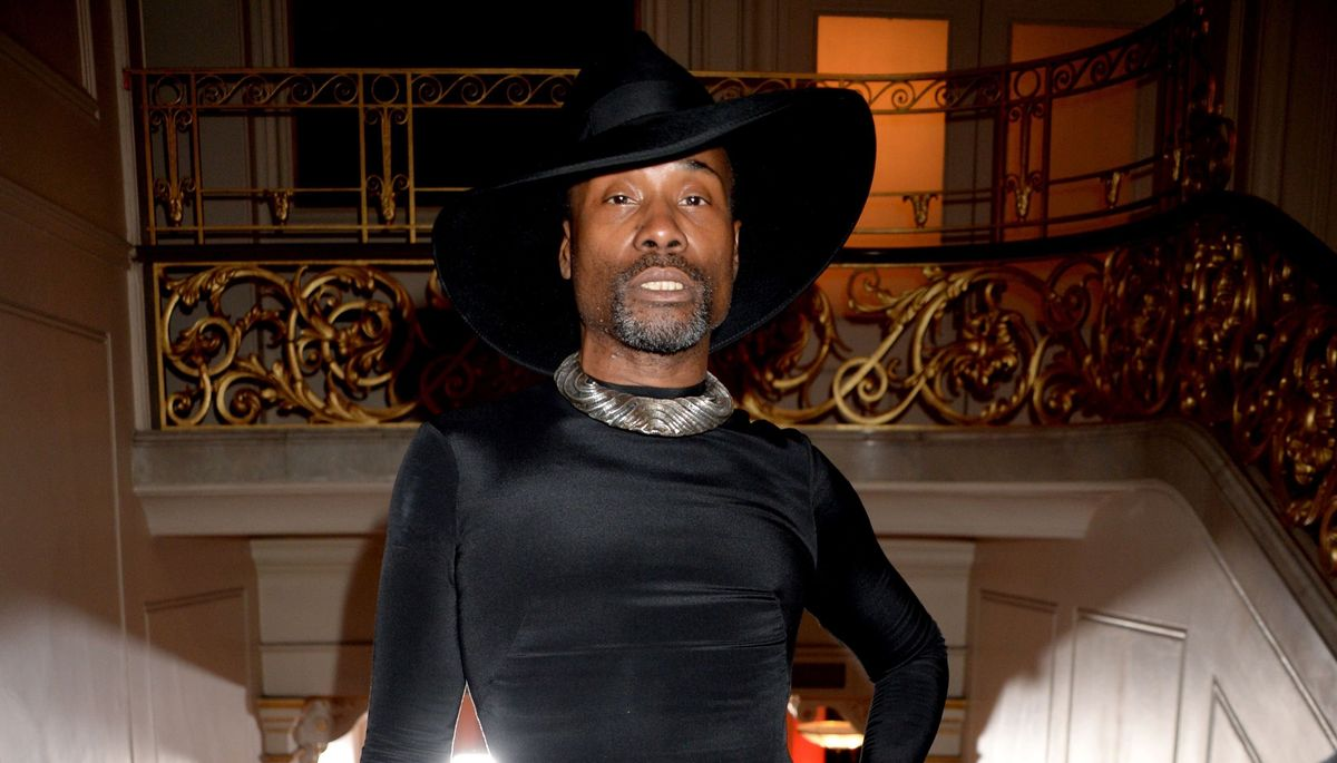 Billy Porter Just Ended Me In This Double-Slit Dress