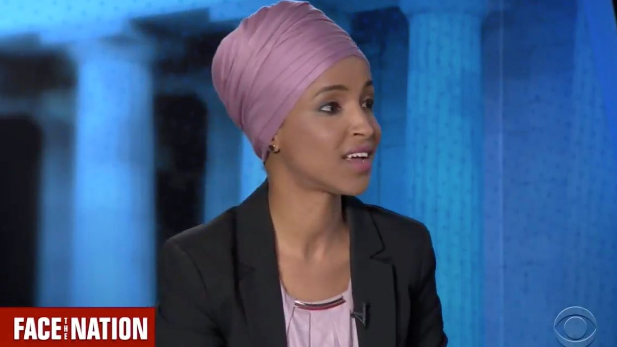 WATCH: Ilhan Omar confronted over 'some people did something' 9/11 comments — and she suggests she was a victim