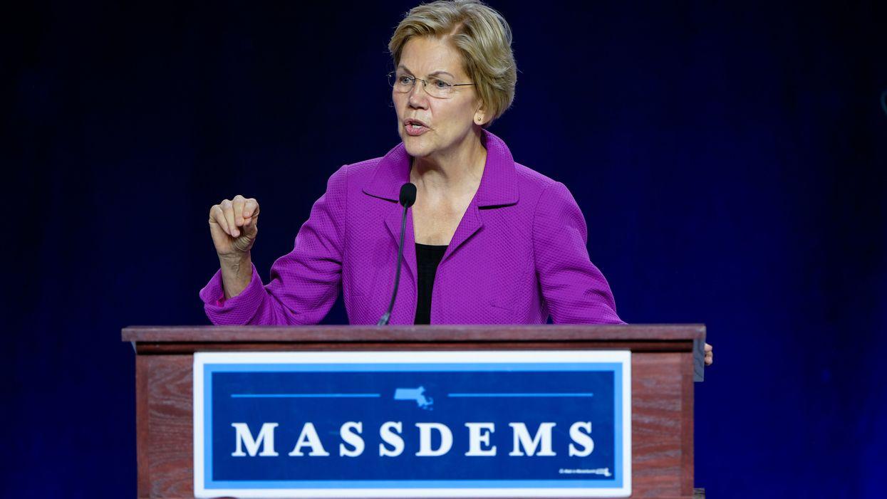 Elizabeth Warren targets President Trump's sister in her 'plan to end Washington corruption'
