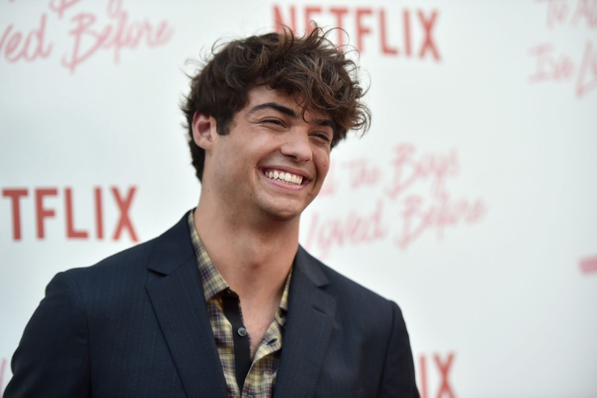 Noah Centineo Debuts Bleach Blonde... Beard