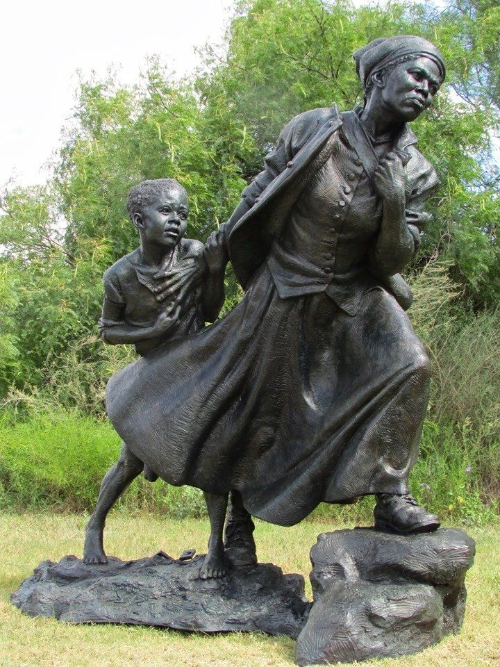 The detailed symbolism in this new Harriet Tubman statue does justice to her life's work - Upworthy