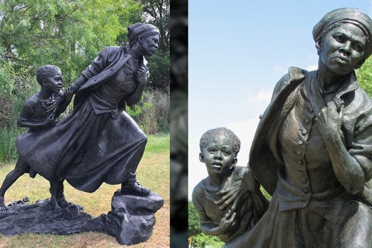 The detailed symbolism in this new Harriet Tubman statue does justice to her life's work