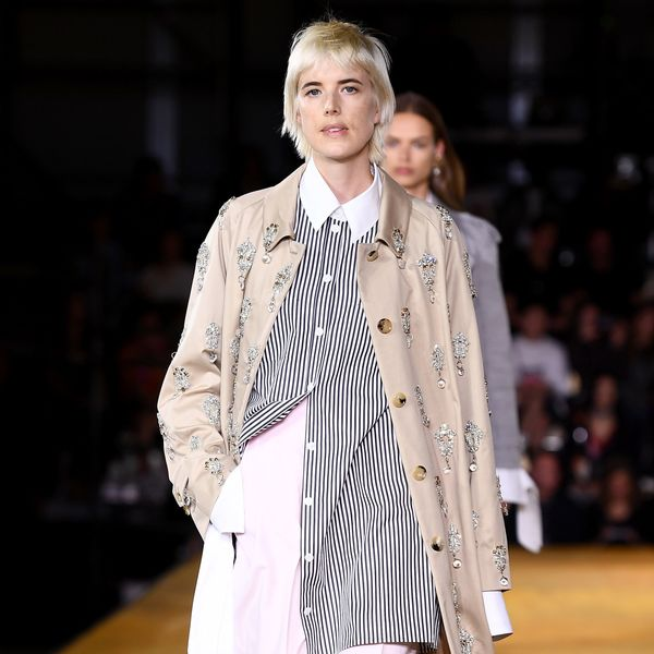 2000s Supermodel Agyness Deyn Returns to the Runway