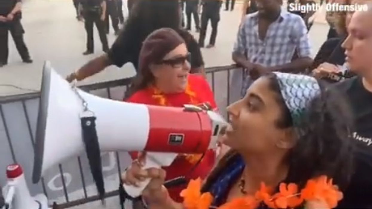 'F**k the police': Foul-mouthed liberal protesters harass, call cops KKK at Houston Democratic debate