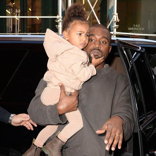 Kanye West Bans North West From Wearing Makeup